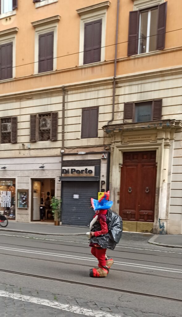 Homeless in via Ottaviano a Roma
